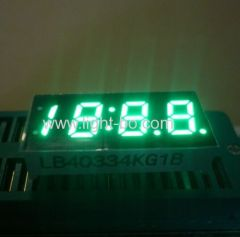 "4 digit green led display; pure green 7 segment ;pure green 0.33"" 4 digit ;"