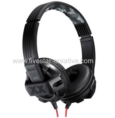 JVC Xtreme Xplosives HAS4X Stereo Deep Bass Port On-Ear Full Size Headphones