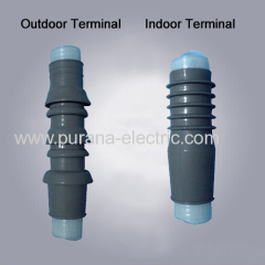 10kV Cold shrinkable Silicon Rubber Cable Terminal