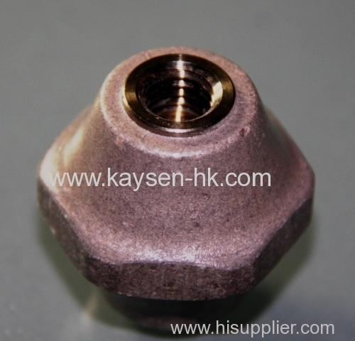 MICA INSULATOR - TAPPED HOLE
