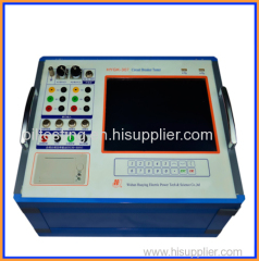 Automatic Circuit breaker analyzer