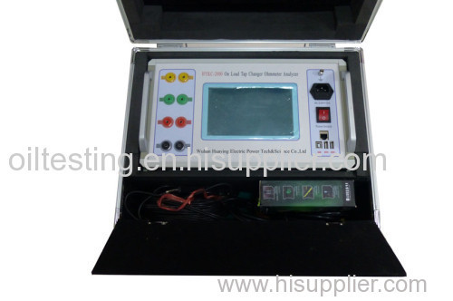 On Load Tap Changer Ohmmeter Analyzer
