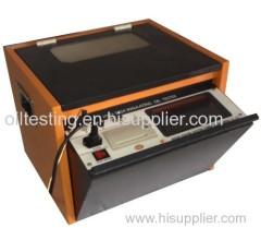 Insulating oil tester 0V~100KV