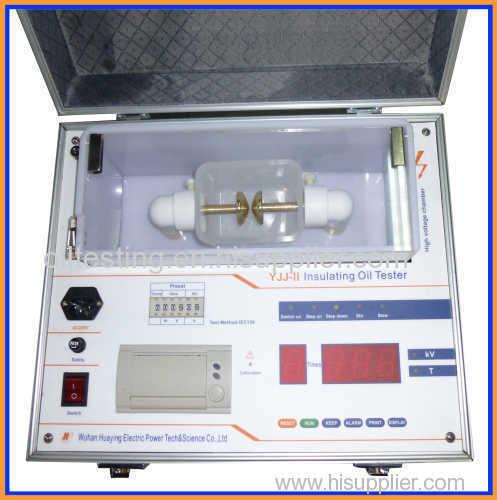 Insulating Oil Tester AC 0~80KV