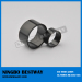 N48 Large Ring NdFeB Magnets NiCuNi coating