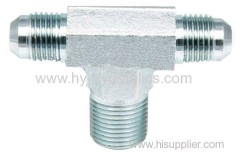 JIC male/ NPT male / JIC male tube Fittings