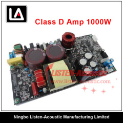 1000W Integrative Class-D Power Amplifier Module with Switch Power Supply