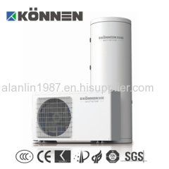 home use air source heat pump water heater with long time warranty and CE approved