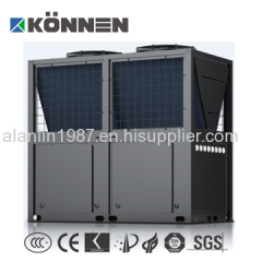 Commercial use air source heat pump water heater with long time warranty and best components
