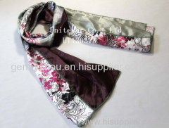 Polyester scarf print scarf