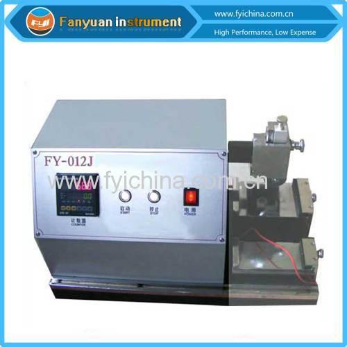 Safety Glove Cutting Resistance Testing Machine