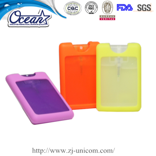 High quality 20ml credit hand sanitizer promotion marketing mix