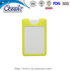 High quality 20ml credit hand sanitizer online promotional products