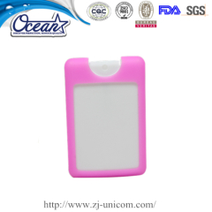 High quality 20ml credit hand sanitizer promotional give away