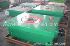 Rotary table for oilfield drilling rig