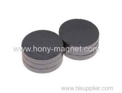 Black coating bonded radial magnet
