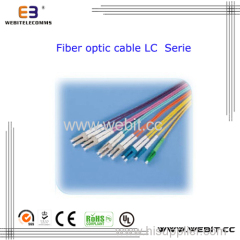 LC Fiber Optic Cable Sm Mm Sx Dx LC Sc FC St MTRJ Fiber Optic Cable