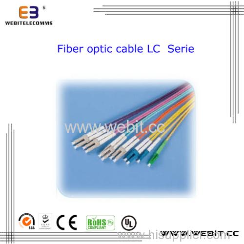 LC Fiber Optic Cable Sm Mm Sx Dx LC Sc FC St MTRJ Fiber Optic Cable