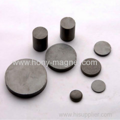 Black epoxy coating strong ferrite magnet