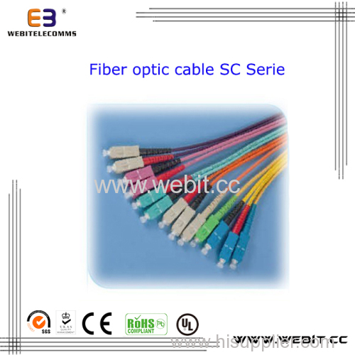 Sc Patch Cord Sc Fiber Optic Cable Sc Cable
