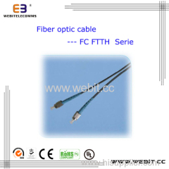 FTTH SC LC FC ST E2000 Fiber Optical Cable FTTH Cable