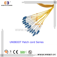 LC Uniboot Patch Cord Fiber Optic Cable