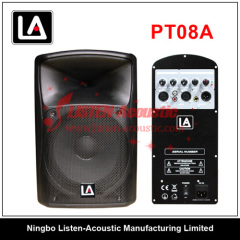 Professional Full Range Plastic Passive / Active Audio Speaker PT08 / 08A