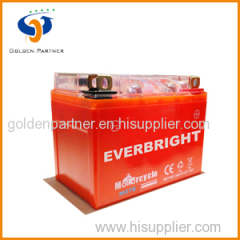 High motorcycle gel lead acid battery energy storage