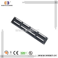 UTP Cat 5E 48 ports patch panel