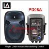 8inch 2 way Professional Plastic Audio speaker boxes PD08 / 08A