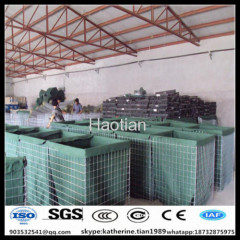 sand wall hesco barrier