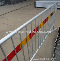 1100mm Height reflective tape steel road barrier