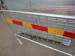 2500мм временных дорожных заграждений с отражающим полоской