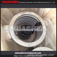 screw barrel heatings and cooling fans