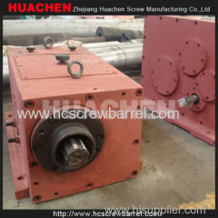 Conical twin screw barrel reducer gearbox fans heatings