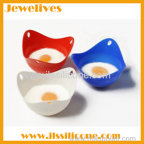 New ideas for kitchenware Silicone egg poacher