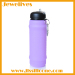 Gift ideas for friends silicone water bottle with some antiskid grain