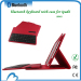 High quatity PU leather case with bluetooth keyboard for Tablet