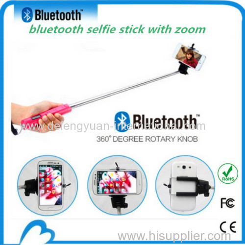 mobile phone flexible selfie stick monopod