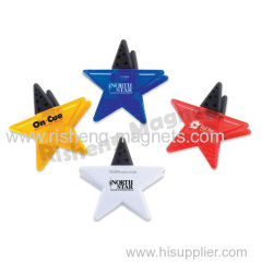 Star Shaped Strong Neodymium Magnetic Clips N42