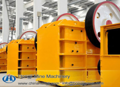 PEF750*1060 Jaw crusher with 160t/h capacity