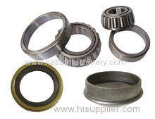 Wheel bearing kit consist of inner cup inner bearing outer cup outer bearing seal and cap