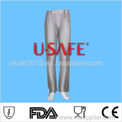 U SAFE stainless steel metal mesh butcher safety cut resistant pants cloth