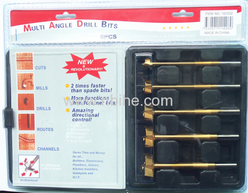 High quality more fast and stable Multi Angle Drill bit