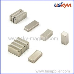 radial magnetization block magnet