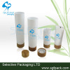 Plastic tube cap bamboo cap for plastic tube cosmetic container bamboo package cosmetic tube
