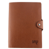 Brown PU softcover paper notebook_China Printing Factory