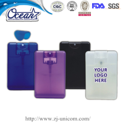 20ml credit card hand sanitizer promotion in marketing mix
