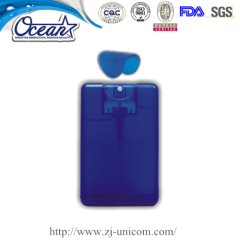 20ml credit card hand sanitizer promote my website