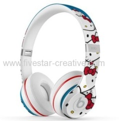 Beats by Dr.Dre Solo 2 Special Edition Hello Kitty Over-Ear Custom Headphones